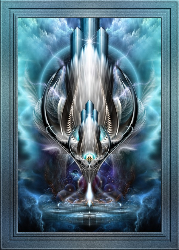 Thereenian Epoch Profound Metaphysical Vision Fractal Art by xzendor7