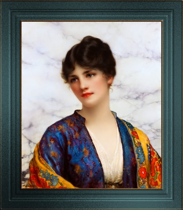 Valeria by William Clarke Wontner Classical Art Old Masters Reproduction by xzendor7