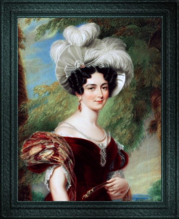 Victoria Duchess of Kent by George Hayter Old Masters Classical Art Reproduction by xzendor7