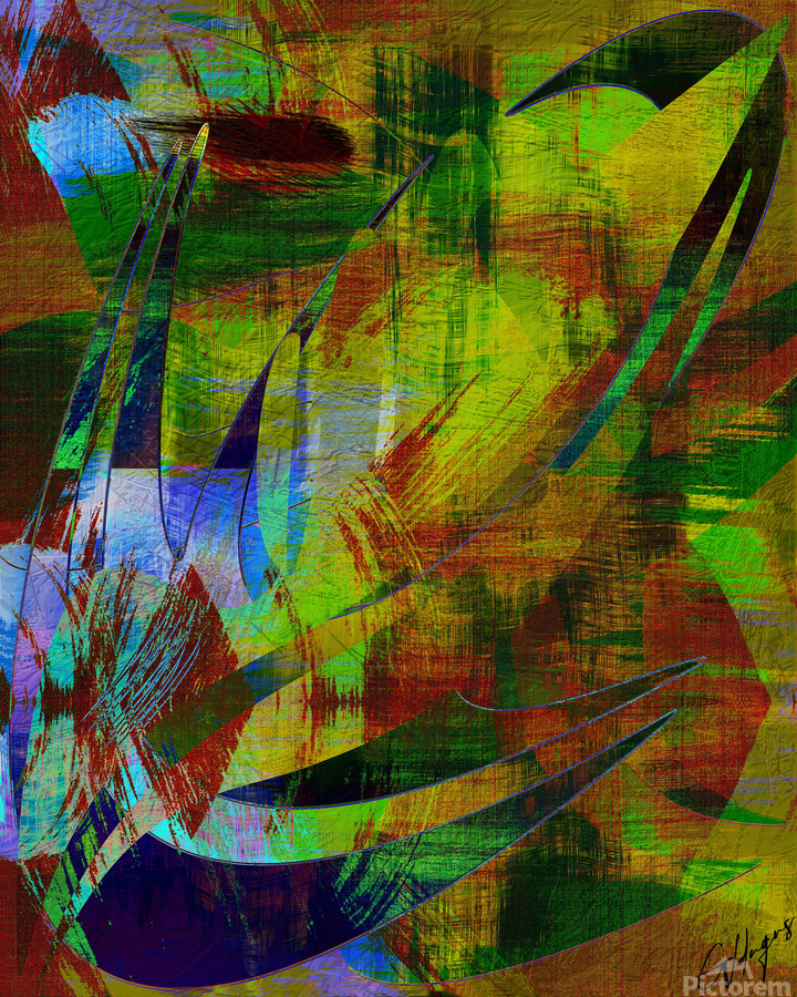ABSTRACT-1007 SPATIAL  Print