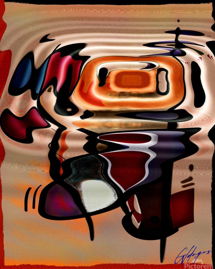 ABSTRACTO-2002 Drainage  Print
