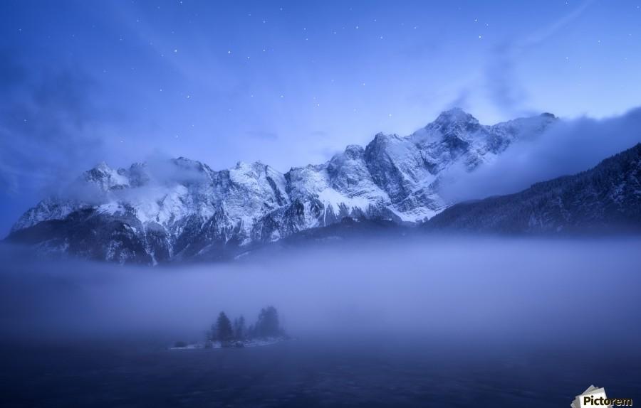 Misty Winter Evening , 1x ,