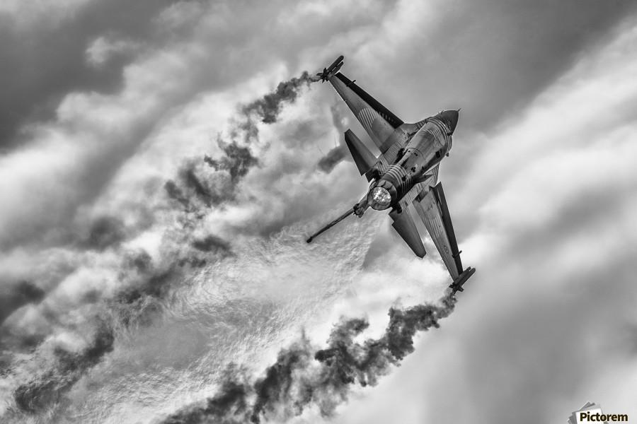 F-16 Solo Turk...  Print