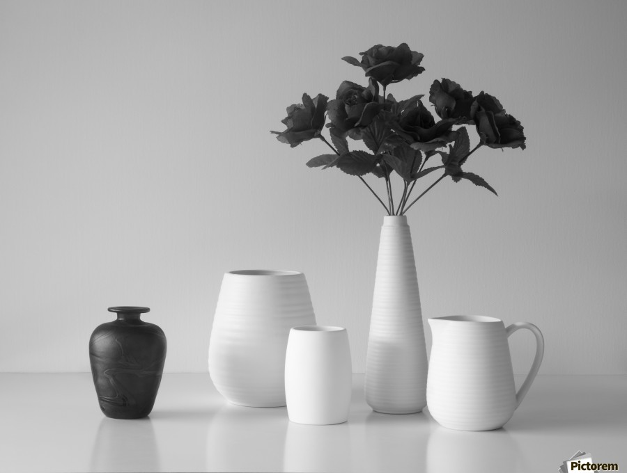 Still Life in Black and White  Print