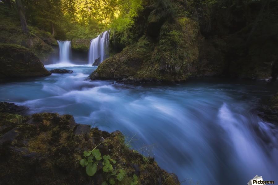 Spirit Falls; Washington, United States of America  Print