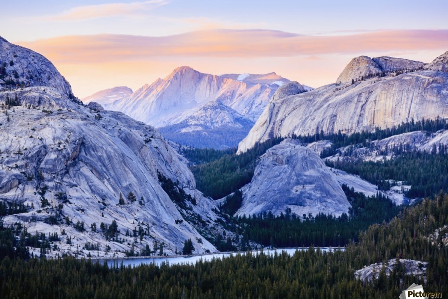 The high country in Yosemite National Park; California, United States of America  Print