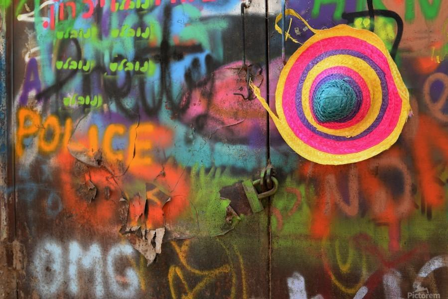 Street colors  Print