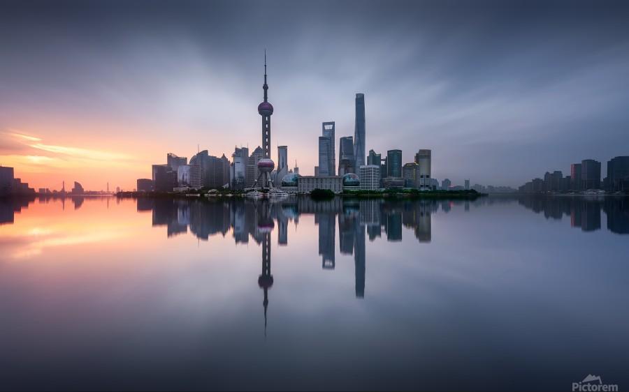 Good Morning Shanghai  Print