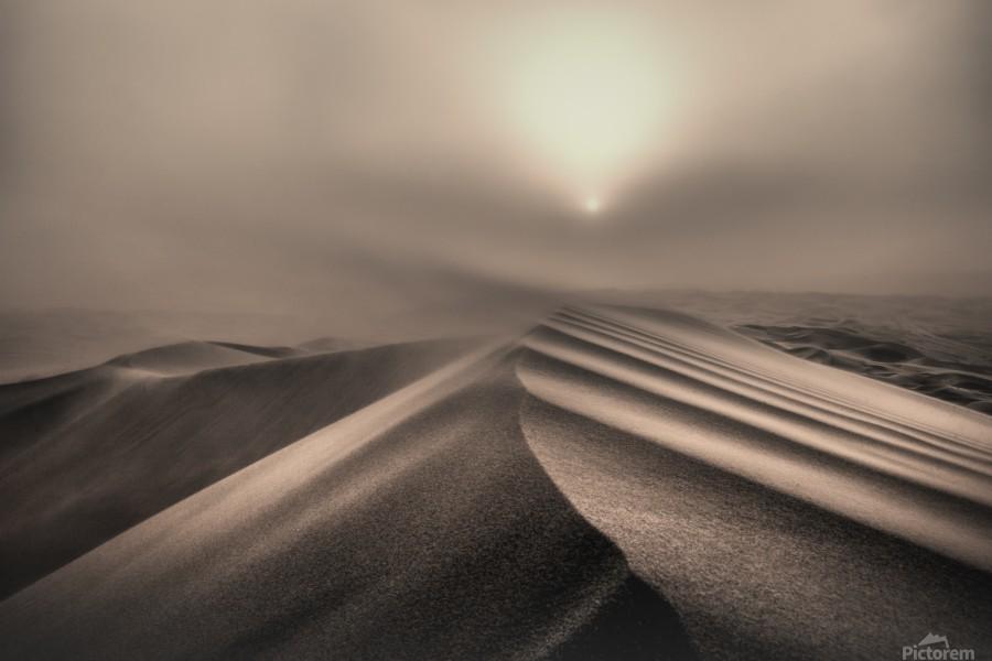 The perfect sandstorm  Print