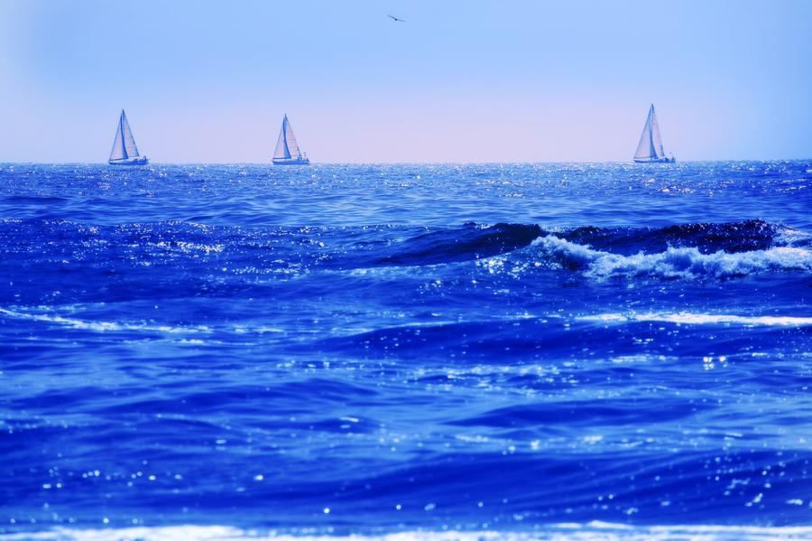 A Good Day For Sailing  Print