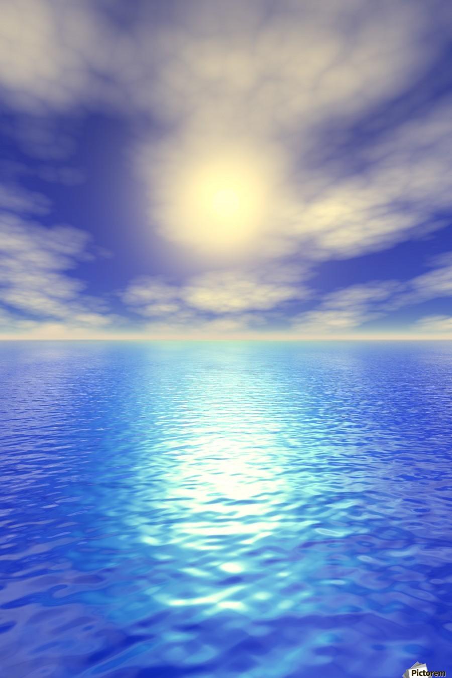 Scenic Ocean View  Print