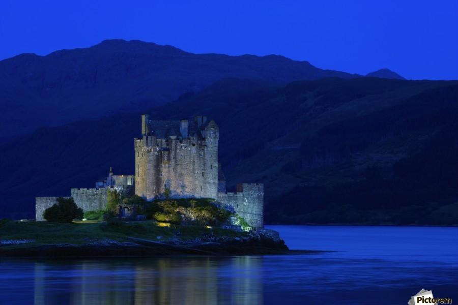 Castle In Scotland  Print