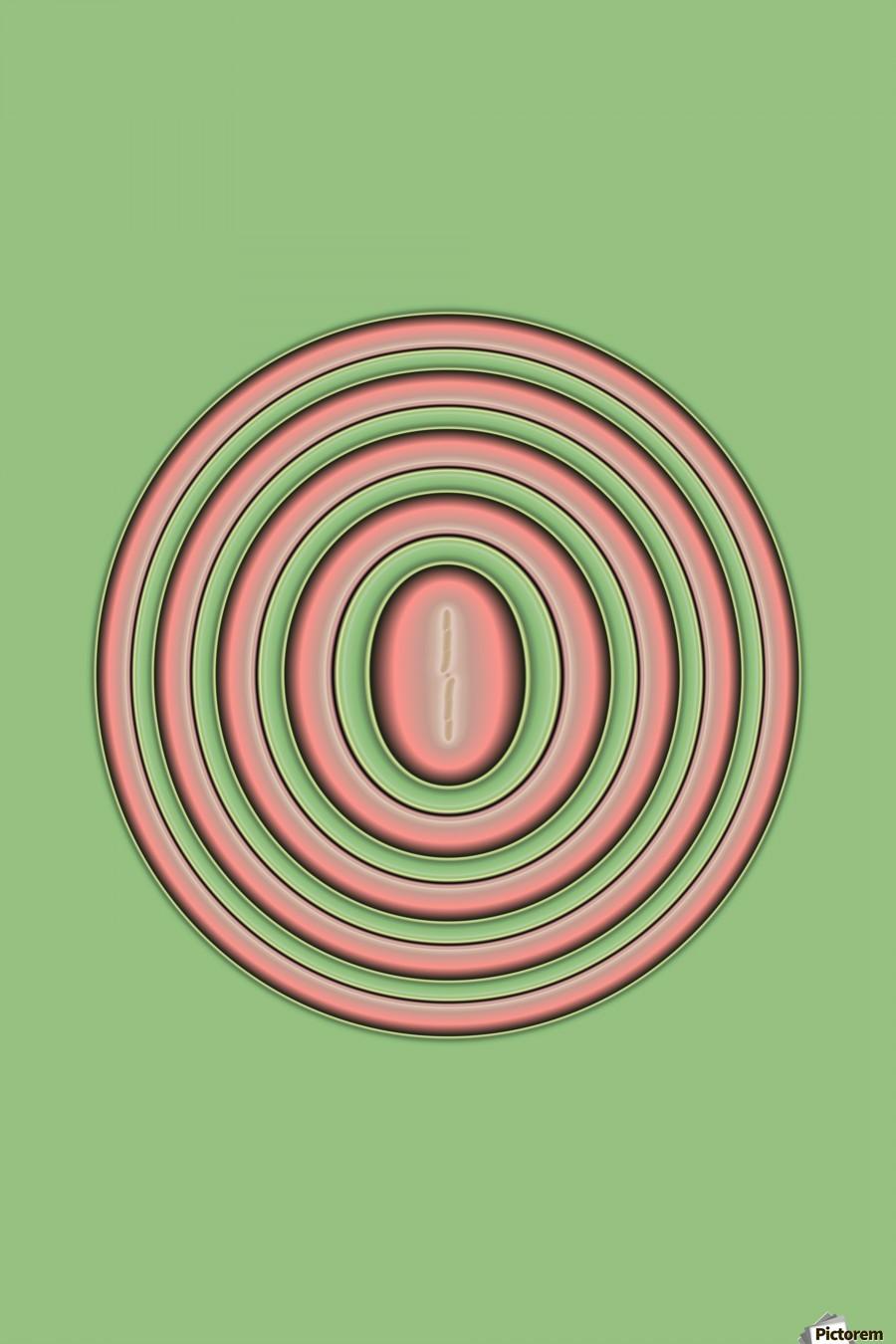 Concentric Circles  Print