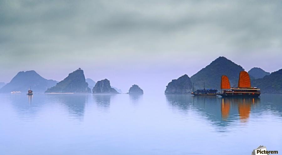 Halong Bay, Vietnam  Print