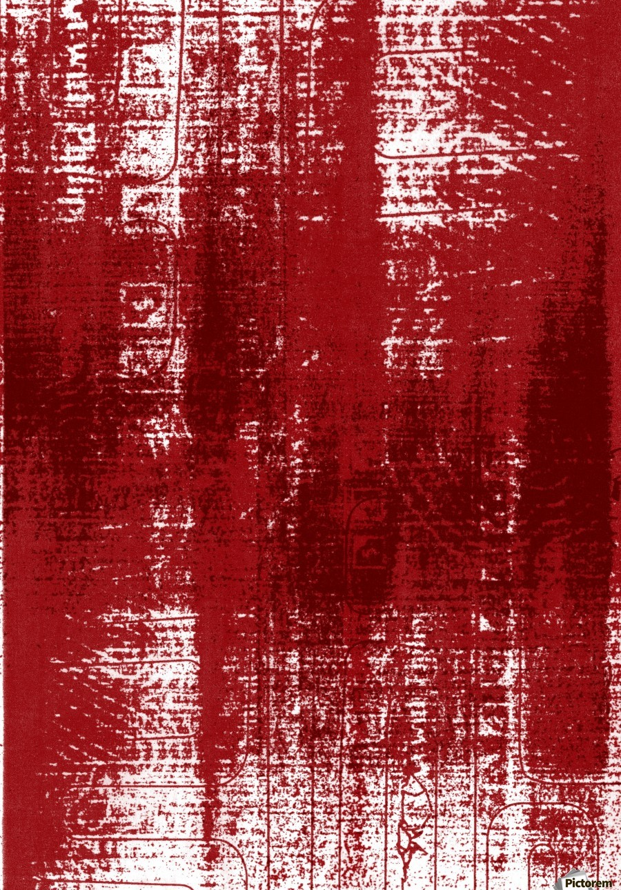 Red Texture  Print