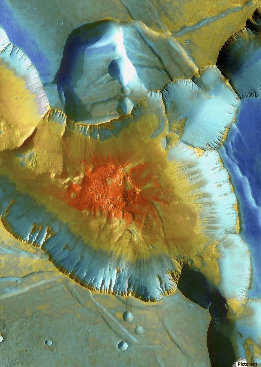 Mars Aerial View  Print