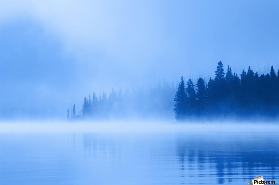 Foggy Lake  Print