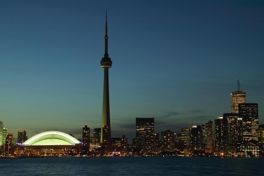 Toronto Skyline Toronto Ontario Canada Pacificstock