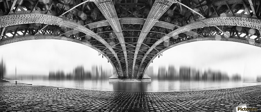 Under The Iron Bridge  Print