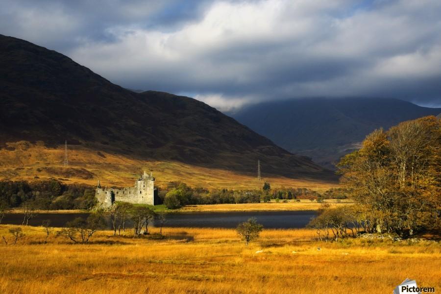 Kilchurn Castle, Loch Awe, Scotland  Print