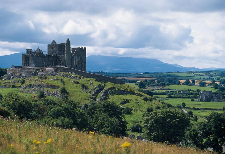 Rock Of Cashel Co Tipperary Ireland Landscape With The  : 9001836595HighRes from www.pictorem.com size 900 x 618 jpeg 94kB