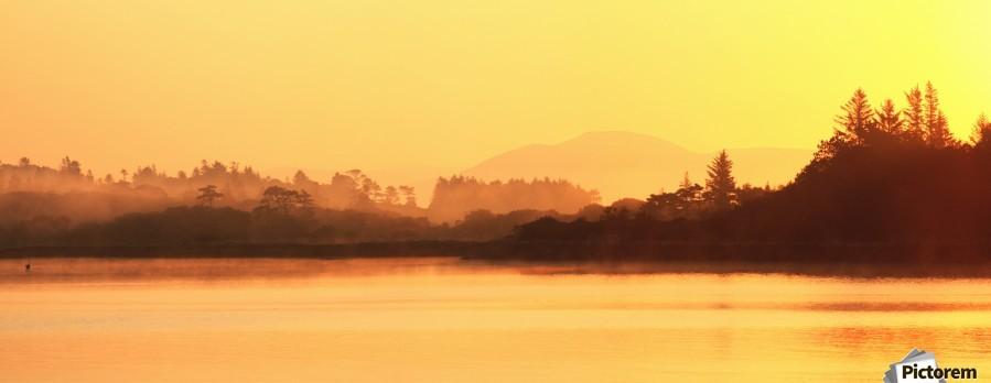 Oysterbed, County Kerry, Ireland, Near Sneem  Print