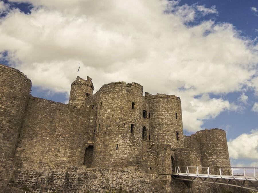 Aberystwyth Castle  Print