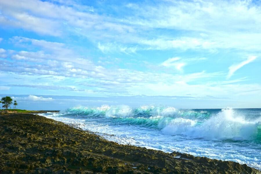 Blue Day - Hawaiian Islands  Print
