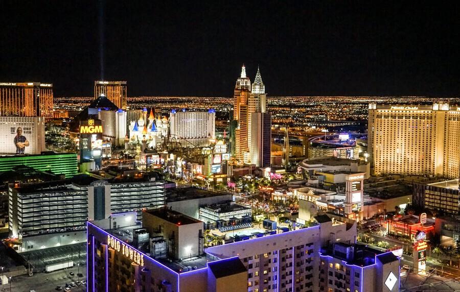 Las Vegas at Night  Print