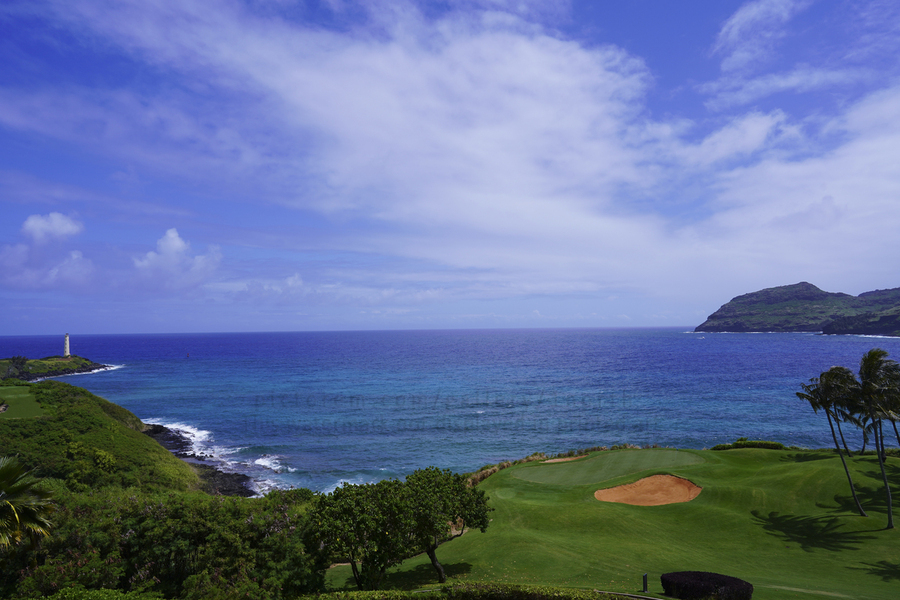 Ninini Point Lighthouse   Kauai Hawaii  Print