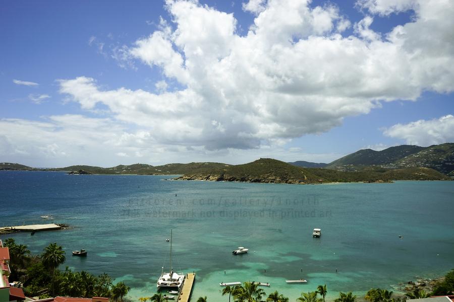 Saint Thomas in the Caribbean Islands  Print