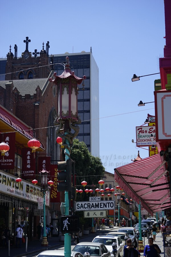 Snapshot in Time Chinatown 2 @ San Francisco  Print