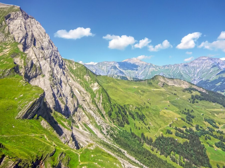 Deep in the Swiss Highlands  Print