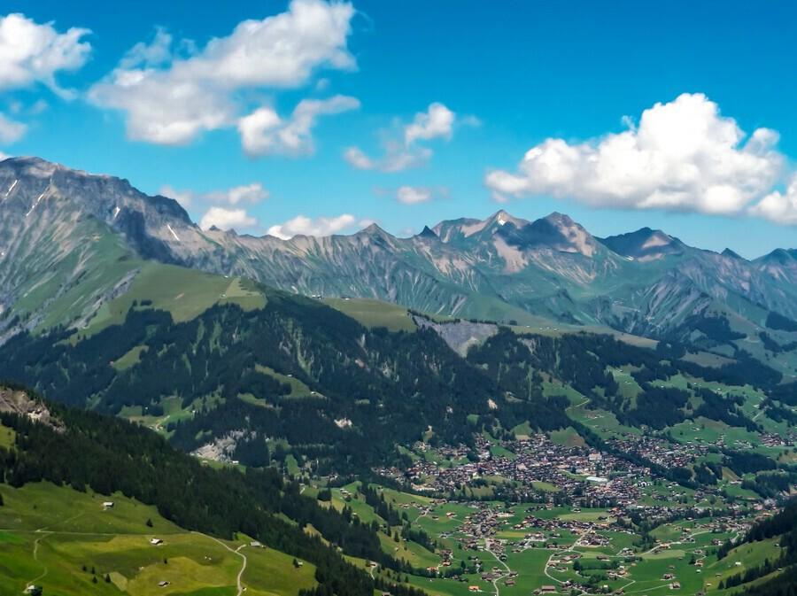 The Bernese Alps Switzerland  Print