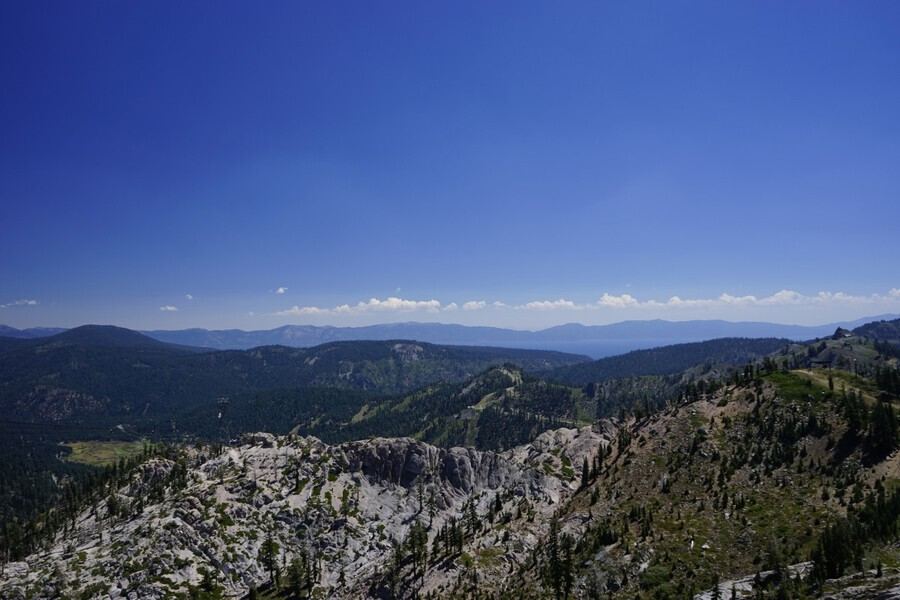 View from the Top Lake Tahoe California  Print