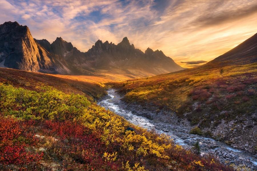 Mountain Paradise  Print