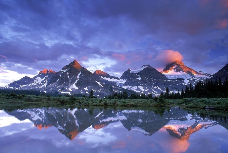 Mt Assiniboine Provincial Park, British Columbia, Canada  Print