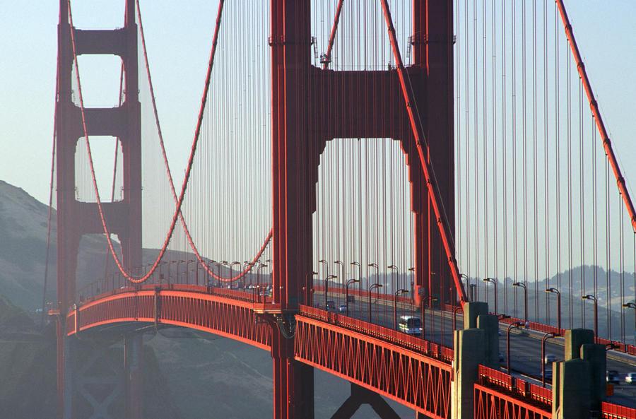 R.Watts; Golden Gate Bridge, San Francisco, Ca  Print