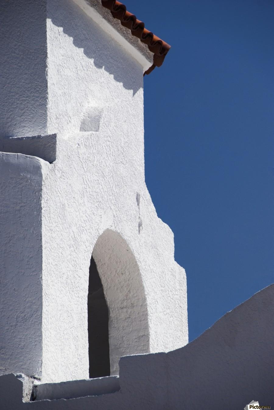 Church Bell Tower; Chacras De Coria, Mendoza, Argentina  Print