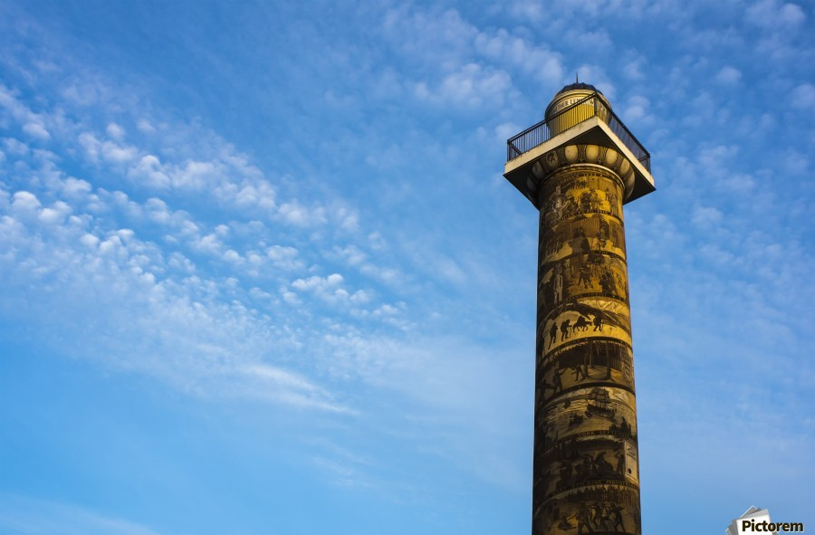 Astoria Column; Astoria, Oregon, United States of America  Print