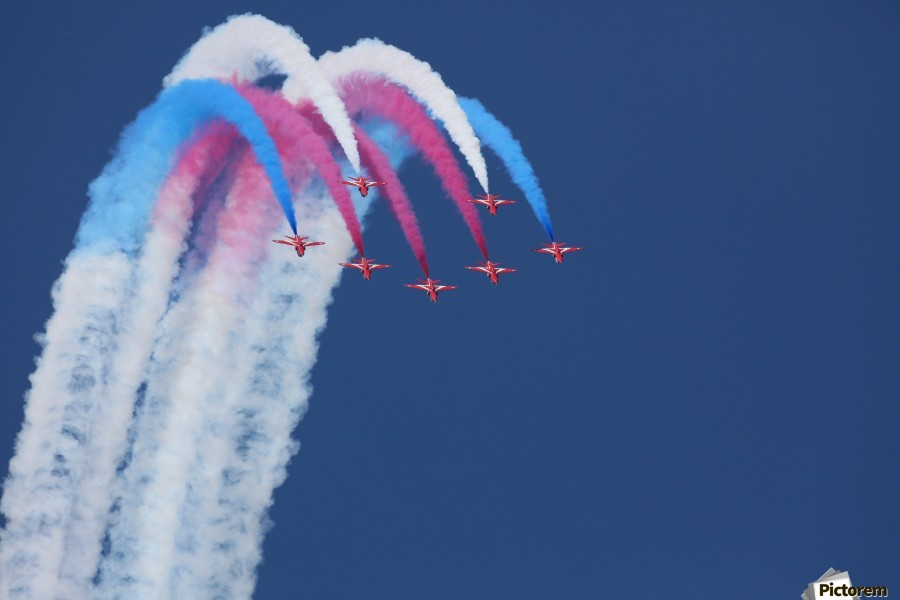 Red Arrows  Print