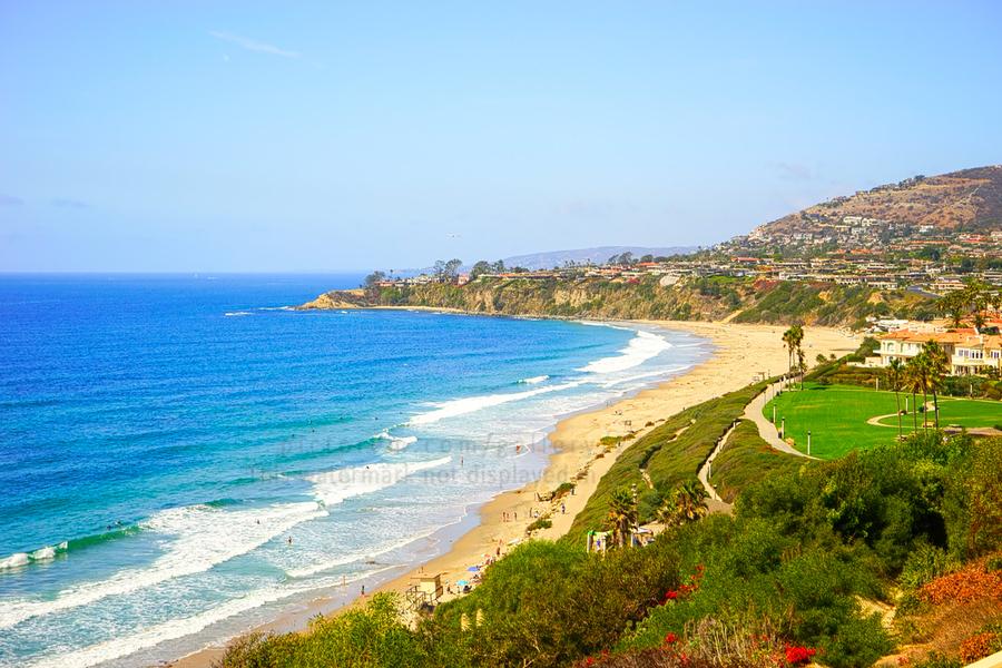 Beautiful Coastal View Newport Beach California 1 of 2  Print
