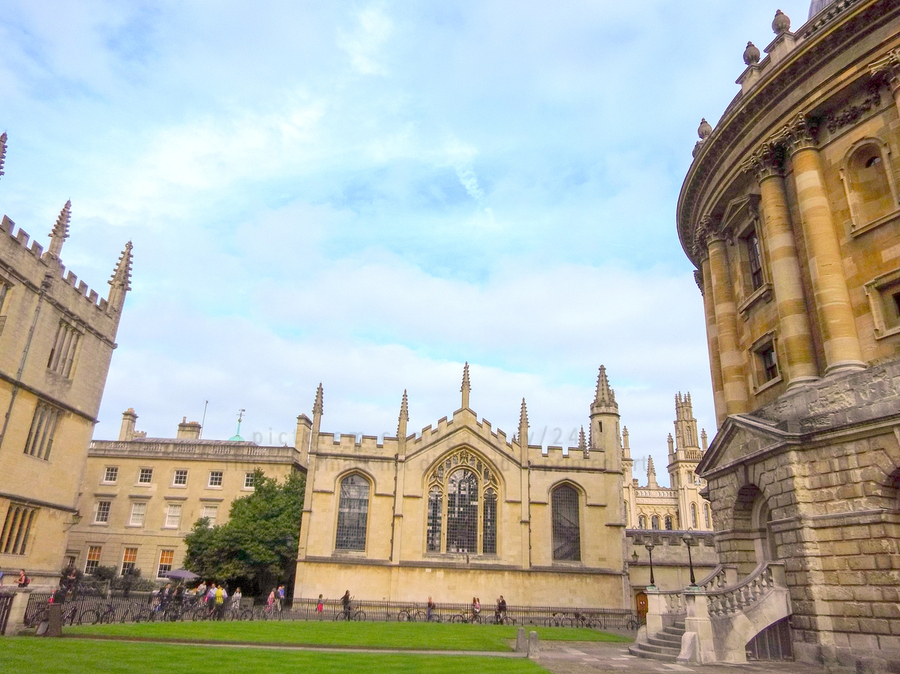 Snapshot in Time Presents a Visit to Oxford 2 of 8  Print