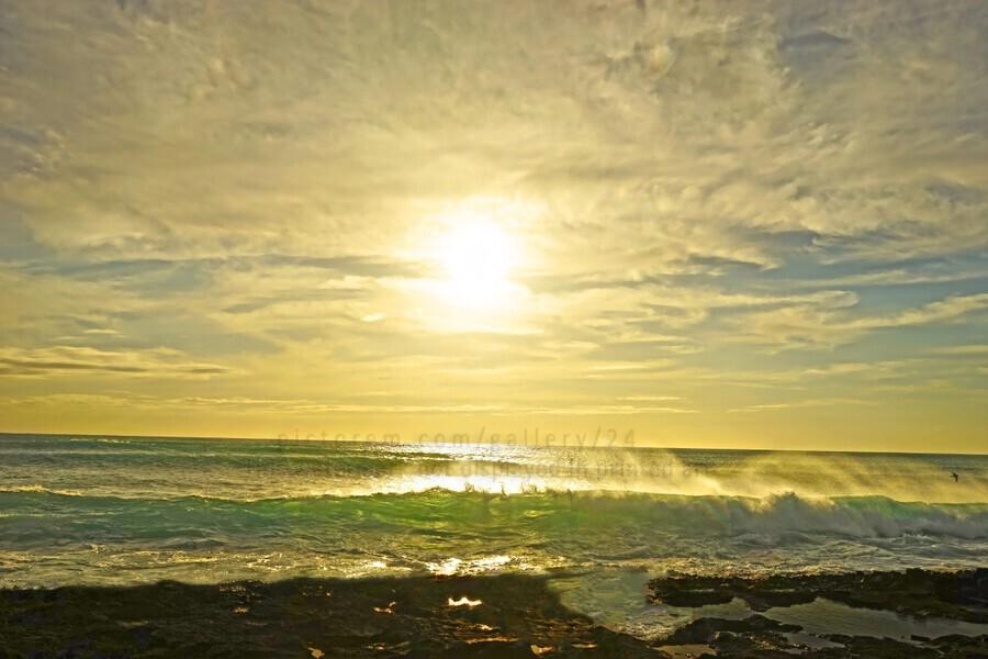Splash - Sunset Hawaii  Print