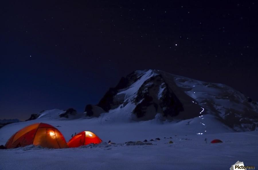 Alpine Start  Print