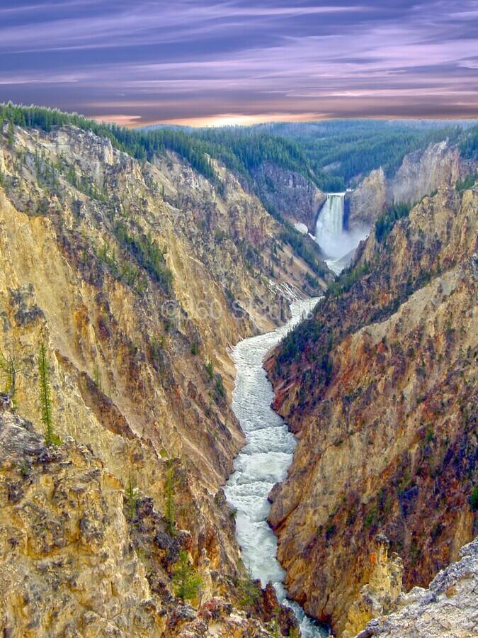 Mighty Yellowstone 5  Print