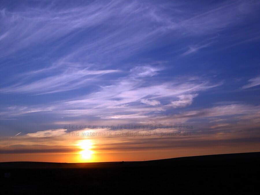 Montana   Sunset  Print