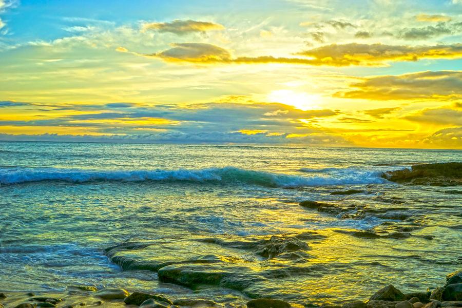 Sunset in Paradise   Hawaii  Print