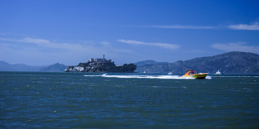 The Rock Alcatraz San Francisco  Print