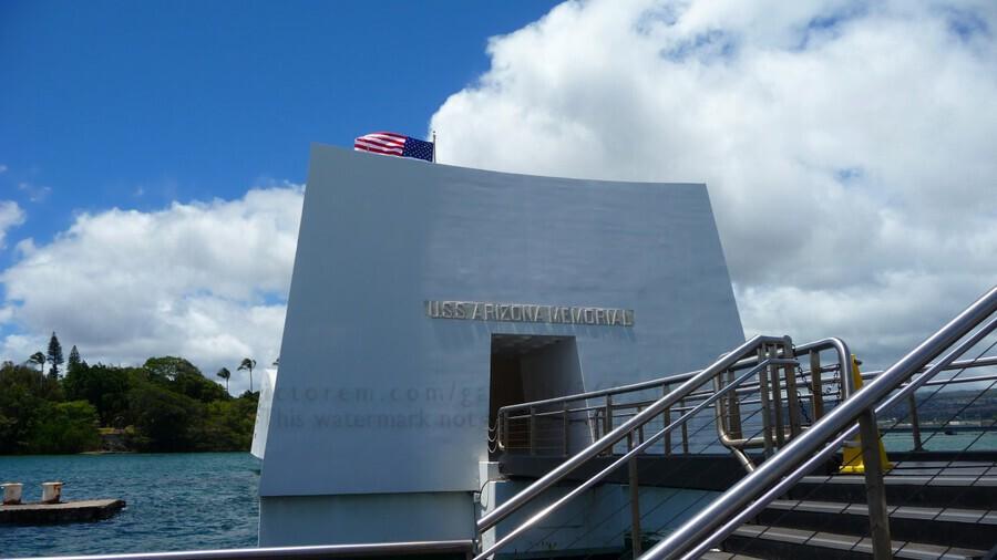 USS Arizona Memorial Hawaii  Print